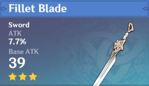 3Star Fillet Blade