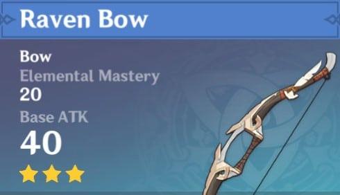 3Star Raven Bow