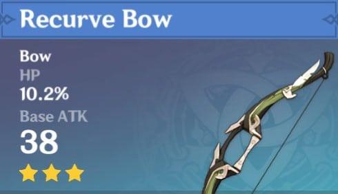 3Star Recurve Bow