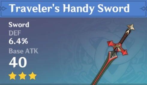 Travelers Handy Sword