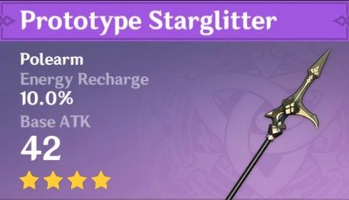 4 Star Polearm Prototype Starglitter