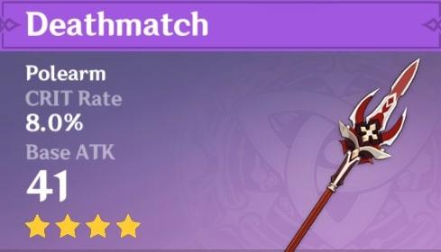 4 StarPolearm Deathmatch