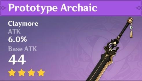 4Star Prototype Archaic