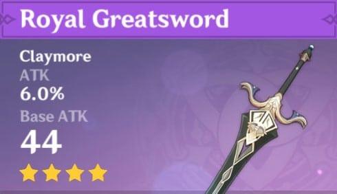 4Star Royal Greatsword