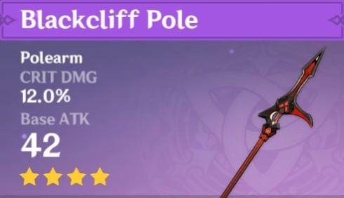4Star Blackcliff Pole