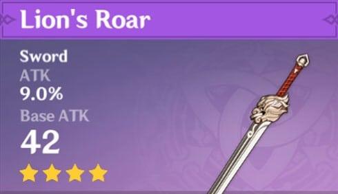 4Star Lions Roar