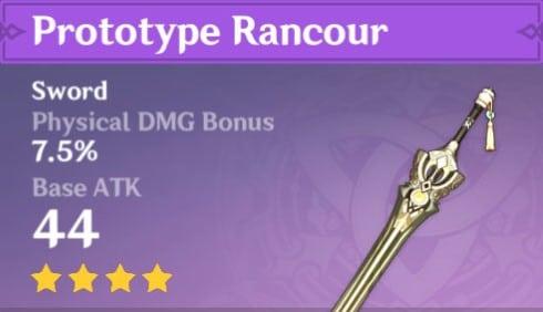 Prototype Rancour