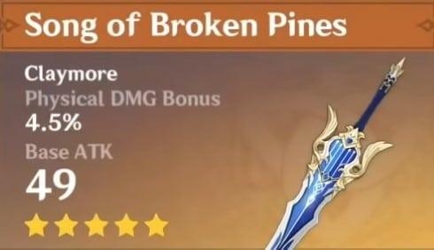 5Star Song Of Broken Pines