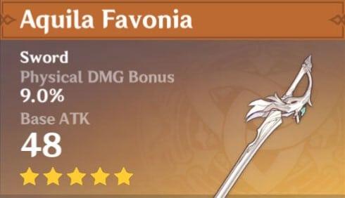 5Star Aquila Favonia