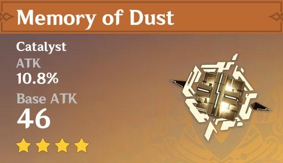 5Star Memory Of Dust