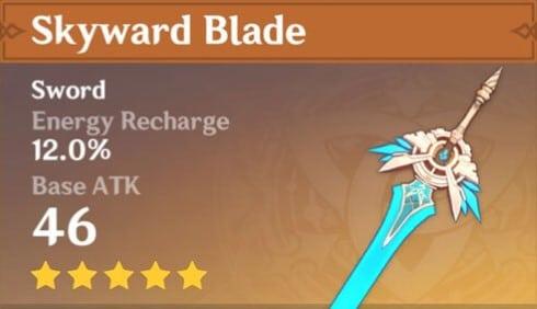 5Star Skyward Blade