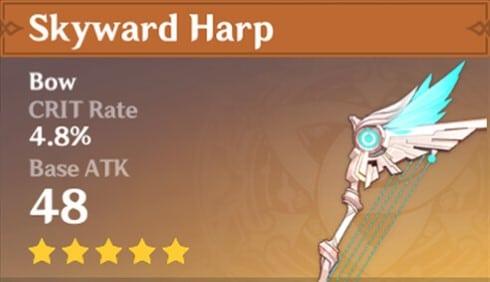 Skyward Harp