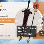 Event Wish Epitome Invocation 2021-02-23 Introducing Staff of Homa and Lithic Weapons