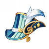 Wanderers Troupe Circlet of Logos - Conductor's Top Hat