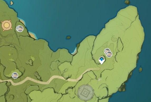 Dandelion Seed Farming Location Map 3 Cape Oath And Dadaupa George