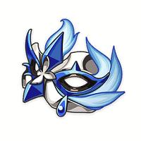 Pale Flame Mocking Mask