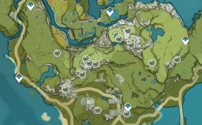 Qingxin Farming Location Map 1 Qingce Village