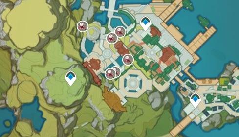 SIlk Flower Farming Location Map 2 Yujin Terrace