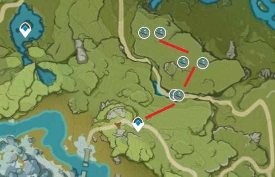 Small Lamp Grass Farming Location Map 2 Windrise