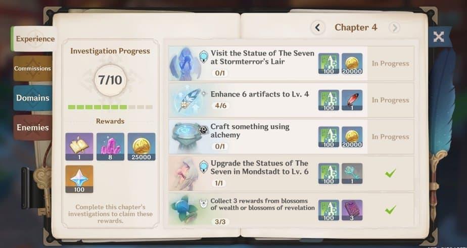 Adventurer Handbook Chapter 4