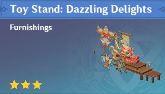 Blueprint Toy Stand Dazzling Delights