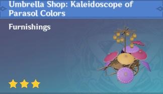 Umbrella Shop: Kaleidoscope Of Parasol Colors