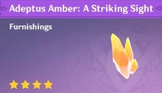 Adeptus Amber: A Striking Sight