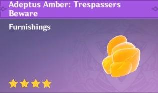 Adeptus Amber: Trespassers Beware