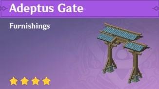 Furnishing Adeptus Gate