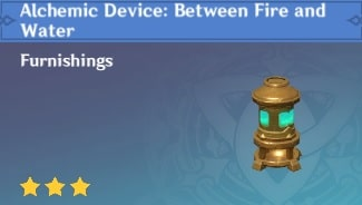 Alchemic Device: Between Fire and Water