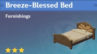 Furnishing Breeze-Blessed Bed