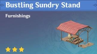 Furnishing Bustling Sundry Stand