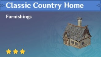 Furnishing Classic Country Home
