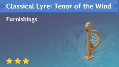 Classical Lyre: Tenor of the Wind