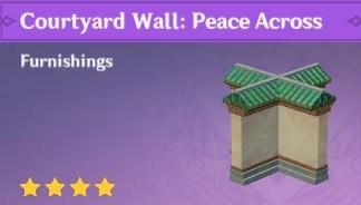 Courtyard Wall: Peace Across