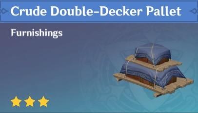 Furnishing Crude Double Decker Pallet