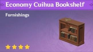 Economy Cuihua Bookshelf
