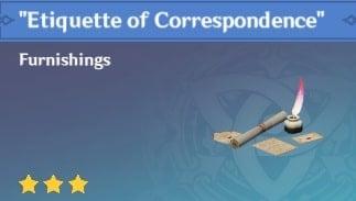Etiquette of Correspondence