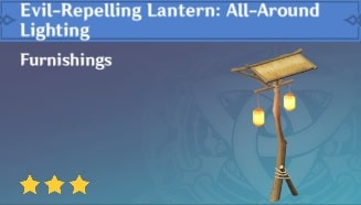 Evil-Repelling Lantern All-Around Lighting