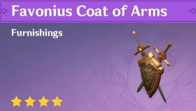 Favonius Coat of Arms