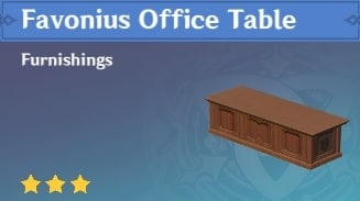 Favonius Office Table