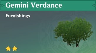Furnishing Gemini Verdance