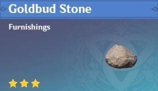 Goldbud Stone