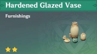 Furnishing Hardened Glazed Vase