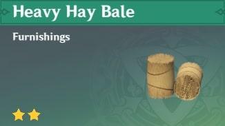 Heavy Hay Bale
