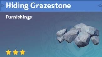 Furnishing Hiding Grazestone