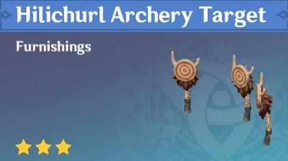 Hilichurl Archery Target