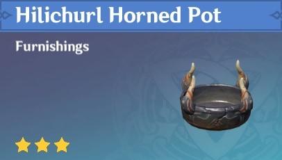 Hilichurl Horned Pot