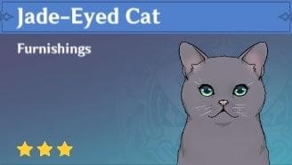 Jade-Eyed Cat