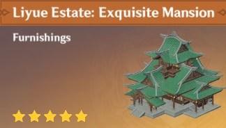 Furnishing Liyue Estate Exquisite Mansion
